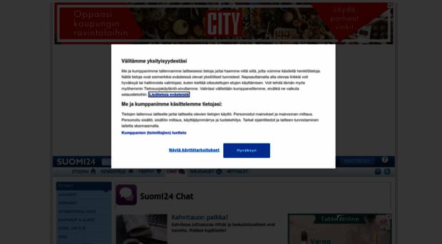 Suomi24 treffit keskustelu
