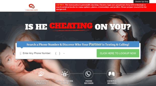 cheatersapps com - Cheaters Apps - Catching Cheat