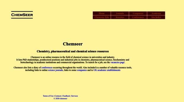 chemseer com - chemistry, pharmaceutical and     - Chemseer