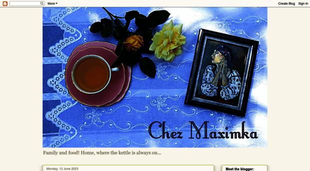 Chezmaximka Blogspot Co Uk