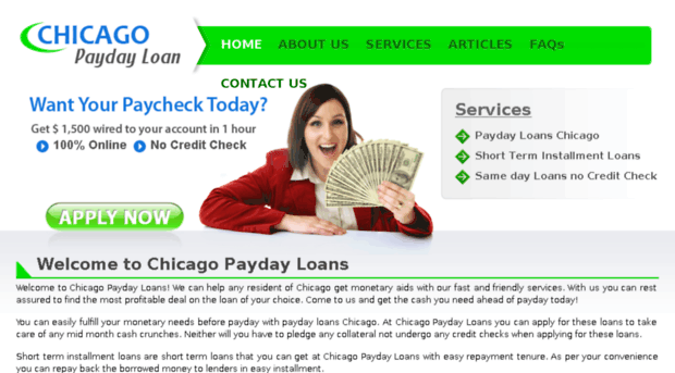 Chicago payday loans online