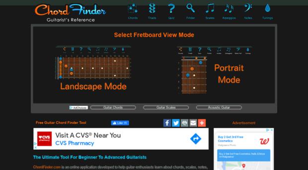 Chordfinder Chord Finder Free Guitar Chor Chord Finder
