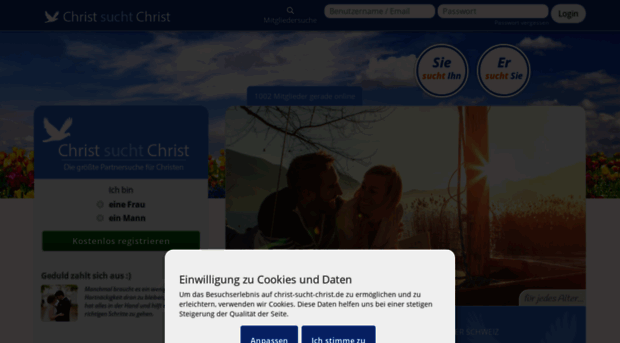 Christliche partnersuche edarling