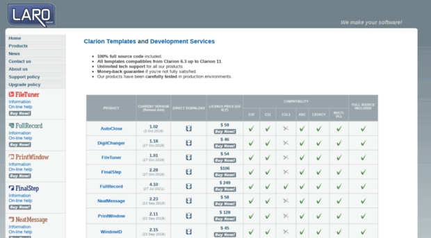 clariontemplates.com - Laro Group - Clarion Templates - Clarion ...