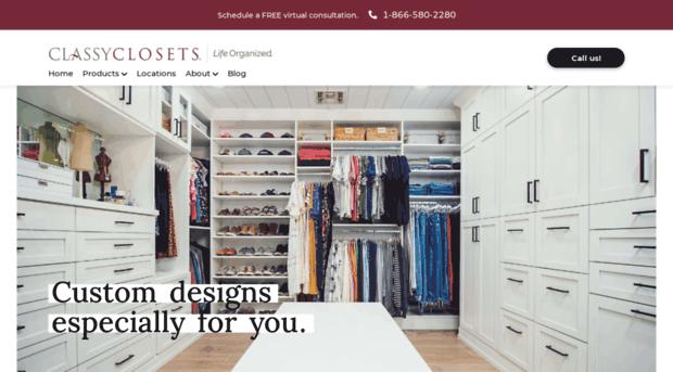 Classyclosets.com   Custom Closet Designs And Stor...   Classy Closets