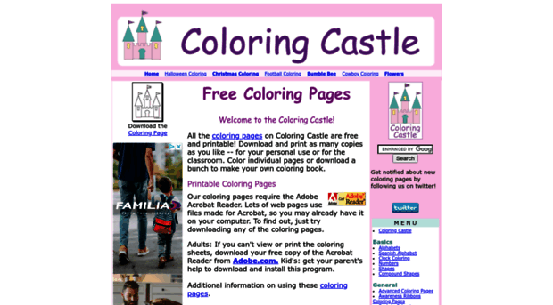 coloringcastle.com - Coloring Pages from Coloring C... - Coloring ...