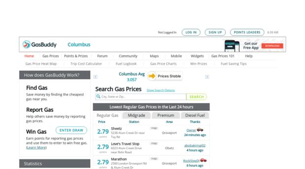 Cheap Gas Columbus Ohio >> Columbusgasprices Com Columbus Gas Prices Find Cheap Gas