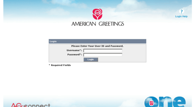 american greetings single sign