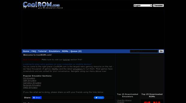 coolrom.com - CoolROM.com - Play Retro Games... - CoolROM
