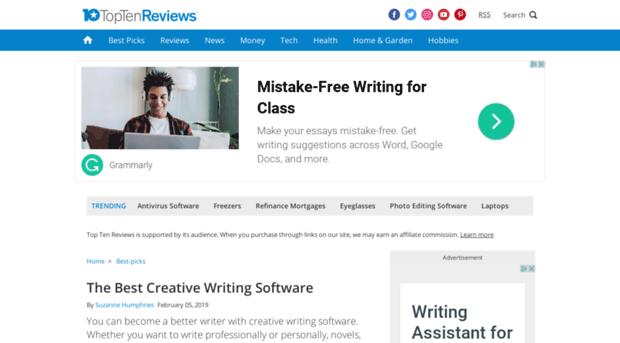 creative writing checker
