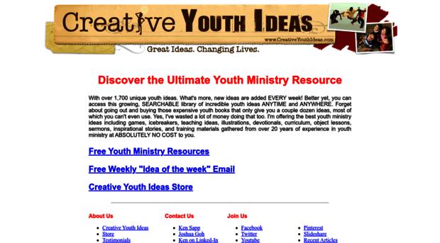 creativeyouthideas com - Creative Youth Ideas: Object l