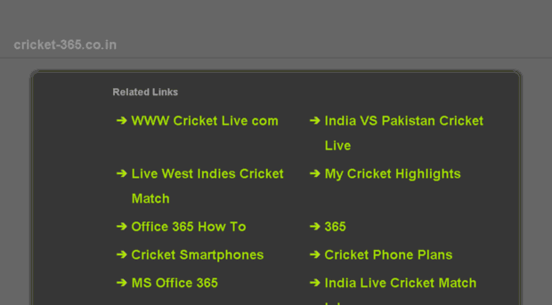 my cricket highlights