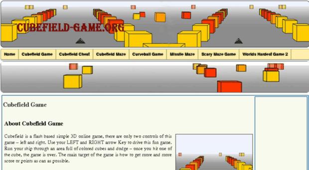 Cubefield Gameorg Cubefield Unblocked Online Gam Cubefield Game