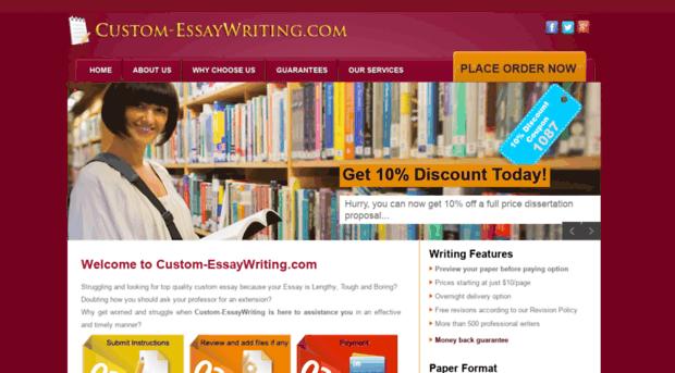 com custom essay writing