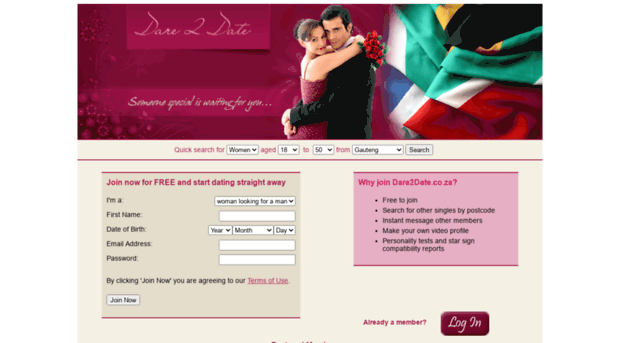 Dating websites.co.za