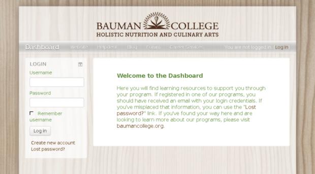 dashboard.baumancollege.org - Bauman