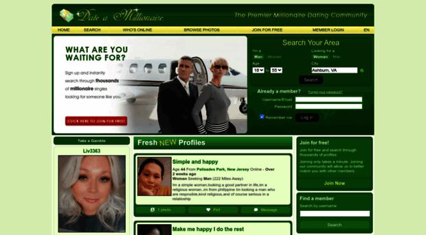 Millionaire site