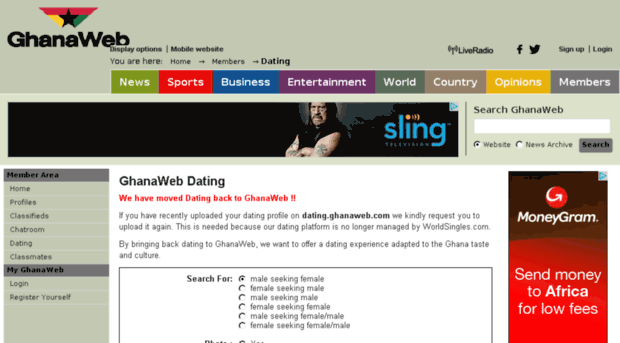 Most Popular Dating Site In Ghana