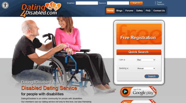 Free dating for the disabled