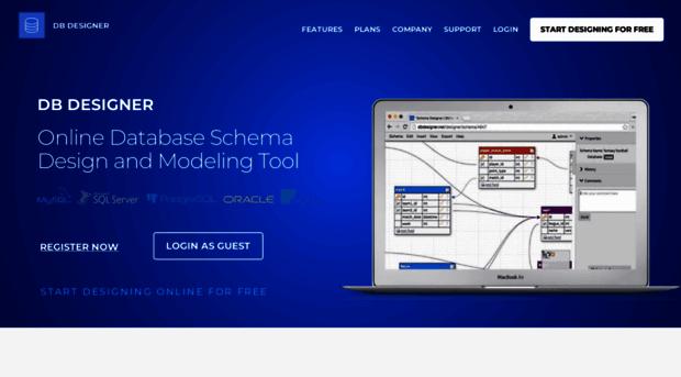 Dbdesigner Net 1 Database Design Modeling Db Designer