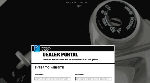 dealer portal piaggio – idee per l'immagine del motociclo