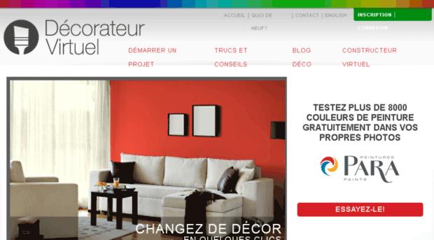 Decorateurvirtuel Com Peinture Agencements De Coule De