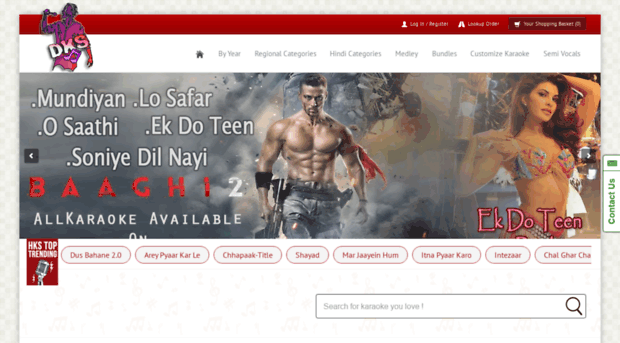 desikaraokeshop com - Hindi Karaoke Shop | Custom Ka