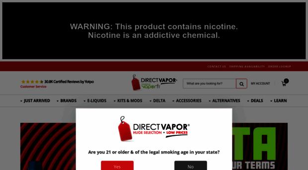 directvapor com Direct Vapor | Vape Shop Online - Vape Mods