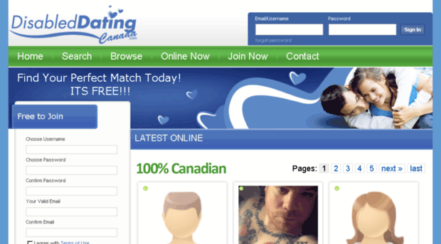 dating for disabled canada