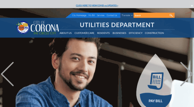 discovercoronadwp com department of water and power discover