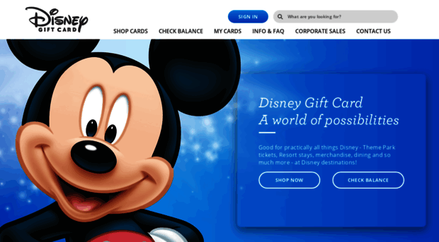 disneygiftcard.com - Home Page   Disney Gift Card - Disney Gift Card