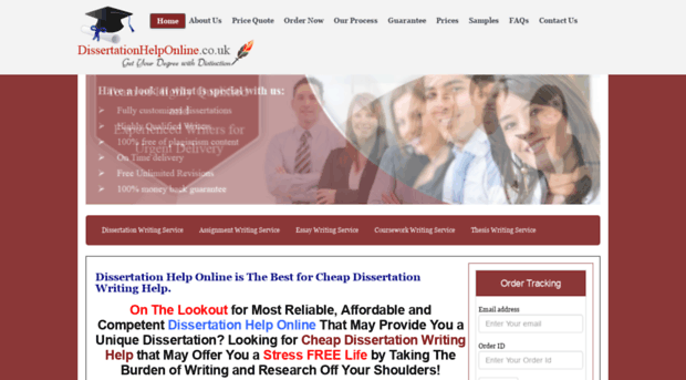 dissertation help co uk Assignment help online is a uk based paper writing service offering a good choice of dissertationplanetcouk – review dissertation-helpcouk review.