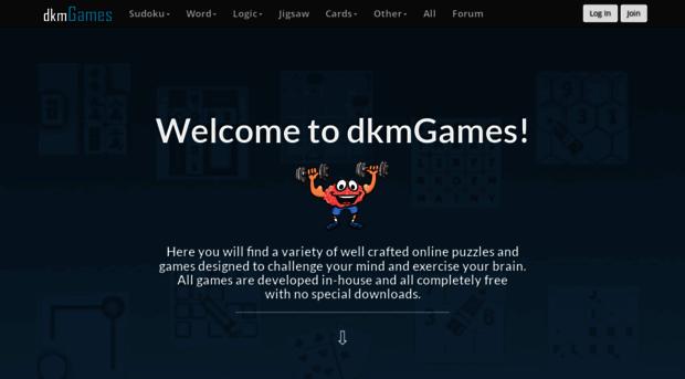 Dkmgames Com Dkm Games Home Page