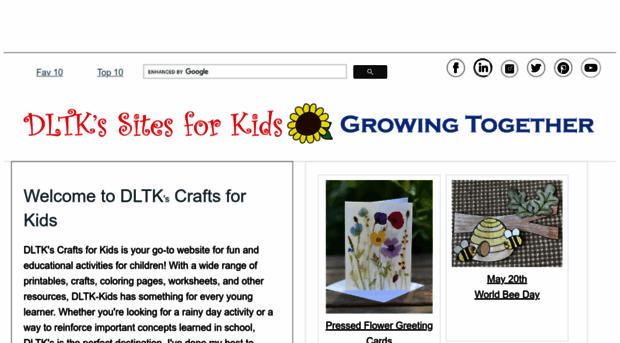 dltk-kids.com - DLTK\'s Crafts for Kids - DLTK Kids