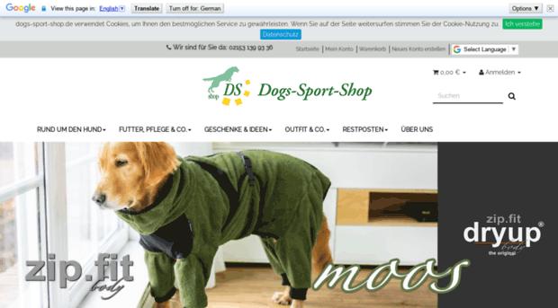 hunde webshop