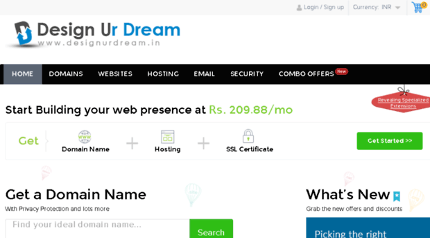 domain.designurdream.in