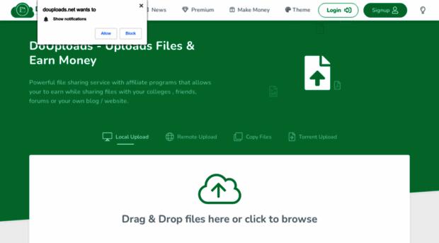 douploads com DoUploads - Upload Files & Earn Money