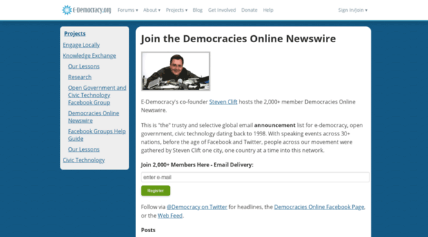 democracy and member join date