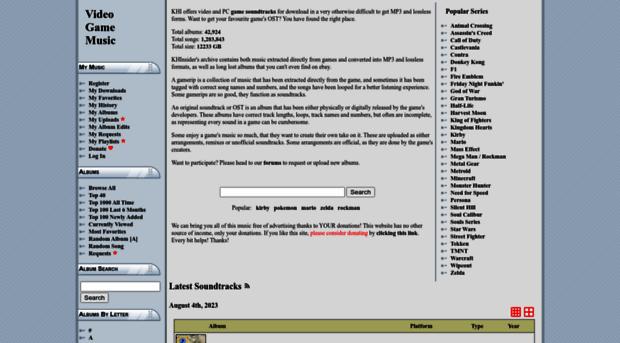 downloads khinsider com - Free MP3 downloads - Free Vide