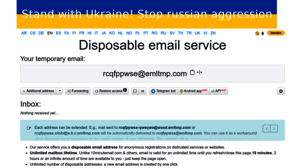 dropmail me Temporary email  Email for 10 minutes or more  Our