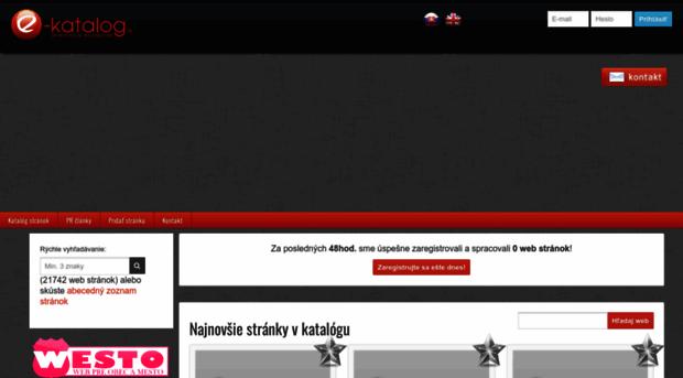 48eab6afc3c5 e-katalog.sk - Katalóg internetových stránok - E Katalog
