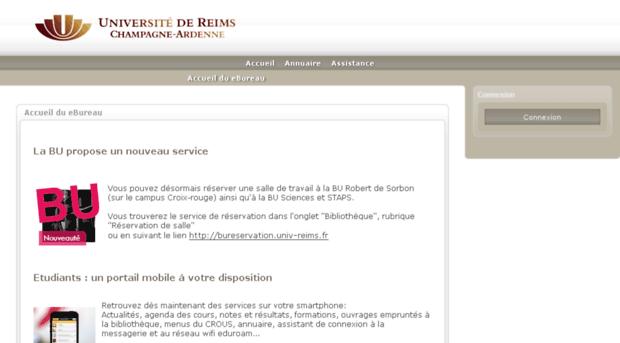 Ebureauuniv Reimsfr Urca Esup 3 Ebureau Univ Reims