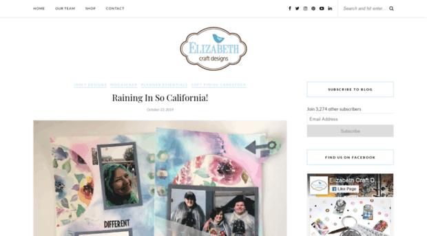 Ecraftdesignsblog Com Elizabeth Craft Designs Blog E Craft