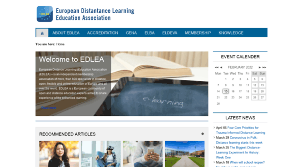 accreditation distance learning