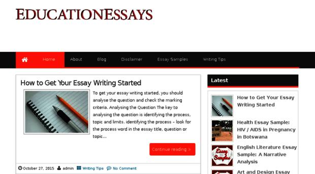 get free essays