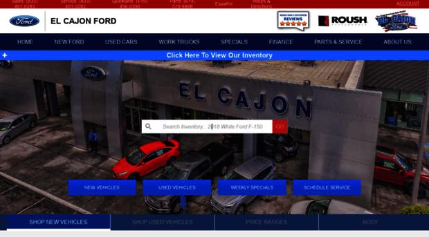 Ford Dealership San Diego >> Elcajonford Com Ford Dealership Near San Diego El