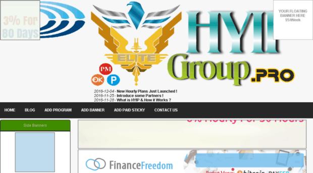 Top hyip sites history