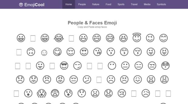 emojicool com - EmojiCool: Emoji Copy Paste, C    - Emoji Cool