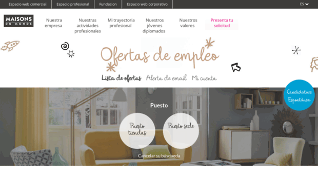 cheap keywords maisons du monde offres duemploi candidature recrutement maisons du monde recrute. Black Bedroom Furniture Sets. Home Design Ideas