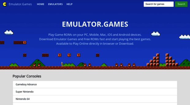 emulator games Emulator Games - Download FREE ROMs for GBA, SNES